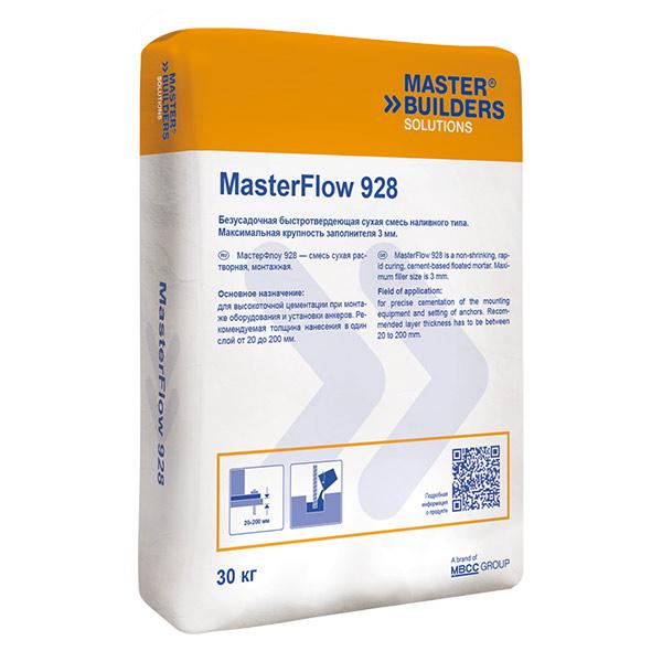 Смесь бетонная сухая безусадочная быстродействующая masterflow 928 цена сланцы бетона